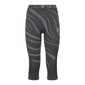 Odlo PERFORMANCE BLACKCOMB - Collant 3/4 Femme black/concrete grey