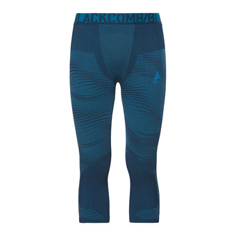 Odlo PERFORMANCE BLACKCOMB - Mallas 3/4 hombre poseidon/blue jewel/atomic blue