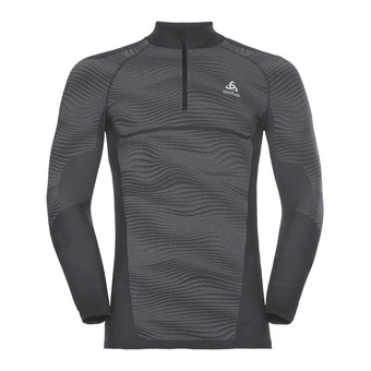Camiseta térmica hombre PERFORMANCE BLACKCOMB black/concrete grey/silver