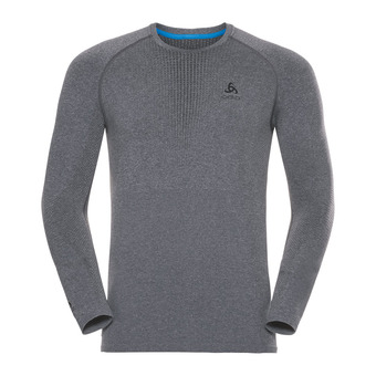 Odlo PERFORMANCE WARM - Camiseta térmica hombre heather grey/black