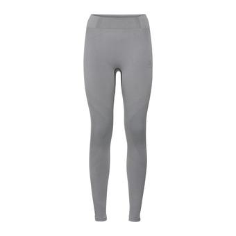 Odlo PERFORMANCE WARM - Tights - Women's - grey marl/black