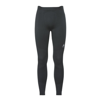 Odlo PERFORMANCE WARM - Tights - Men's - black/concrete grey