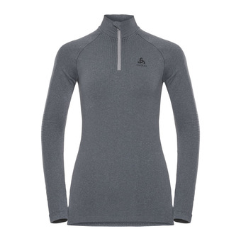Odlo PERFORMANCE WARM - Camiseta térmica mujer heather grey/black
