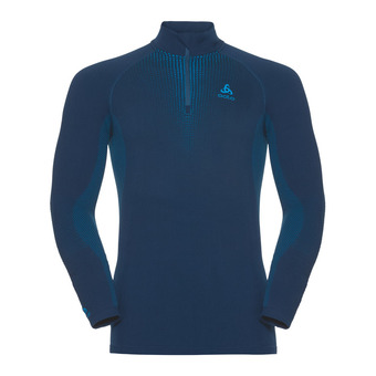 Sous-couche ML 1/2 zip homme PERFORMANCE WARM poseidon/blue jewel
