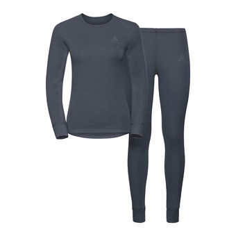 Odlo ACTIVE ORIGINALS WARM - Ensemble sous-couche Femme india ink