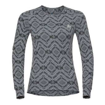 Camiseta térmica mujer ACTIVE WARM KINSHIP grey melange
