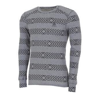 Odlo ACTIVE WARM KINSHIP - Camiseta térmica hombre heather grey