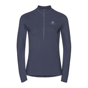 Sweat 1/2 zip femme ZEROWEIGHT WARM odyssey grey