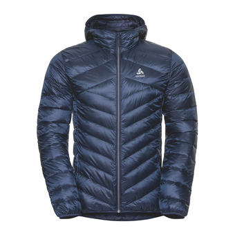 Odlo AIR COCOON - Anorak hombre diving navy