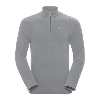 Odlo ROY - Fleece - Men's - platinum grey/steel grey/stripes