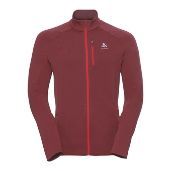Odlo CARVE WARM - Sweat Homme syrah