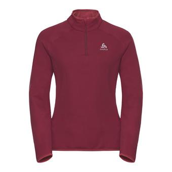 Odlo CARVE WARM - Sweatshirt - Women's - rumba red