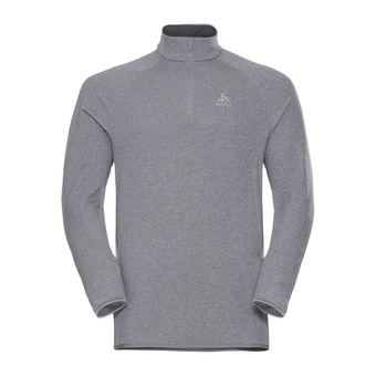 Odlo CARVE WARM - Sweat Homme grey melange