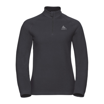 Sweat 1/2 zip femme BERNINA black