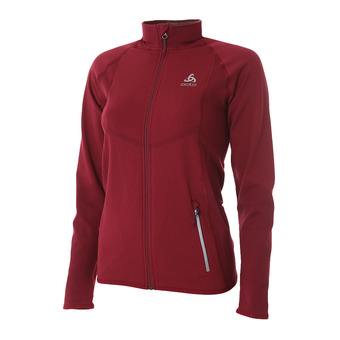 Chaqueta mujer VELOCITY LIGHT rumba red/hibiscus