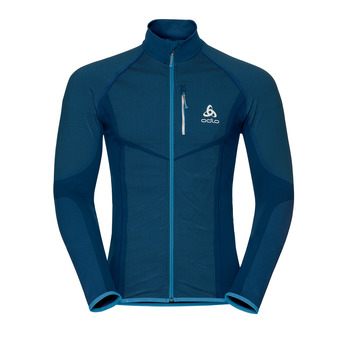 Odlo VELOCITY LIGHT - Chaqueta hombre poseidon/blue jewel