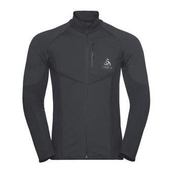 Odlo VELOCITY LIGHT - Chaqueta hombre black/concrete grey