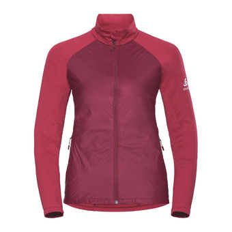 Odlo VELOCITY ELEMENT LIGHT - Chaqueta mujer rumba red/hibiscus