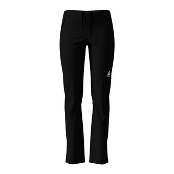 Odlo AEOLUS ELEMENT WARM - Pantalón de esquí mujer black