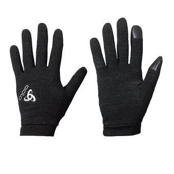 Gloves - NATURAL + WARM black