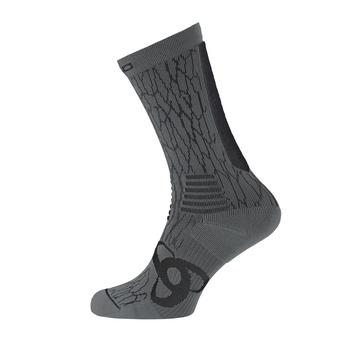 Odlo CERAMICOOL - Calcetines black/steel grey