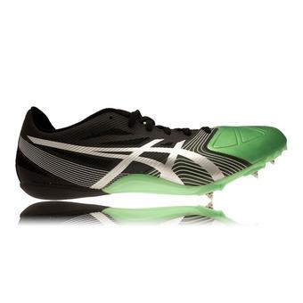 Zapatillas de atletismo hombre HYPERSPRINT 6 onyx/silver/flash green