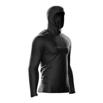 Veste à capuche homme THUNDERSTORM 10/10 black edition 10