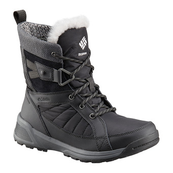 Columbia MEADOWS SHORTY OMNI-HEAT 3D - Après-Ski Boots - Women's - black steam
