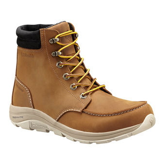 Columbia BANGOR BOOT OMNI-HEAT - Après-ski Homme tobacco bright copper