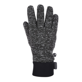 Columbia BIRCH WOODS - Gloves - Men's - shark black