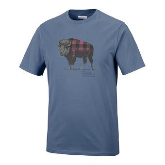 Camiseta hombre CSC CHECK THE BUFFALO II dark mountain
