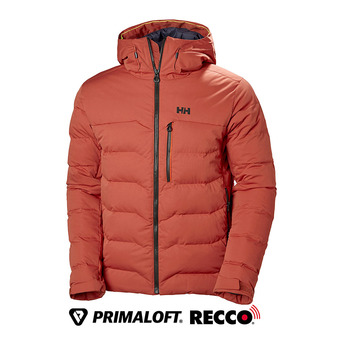 Doudoune de ski homme SWIFT LOFT red brick