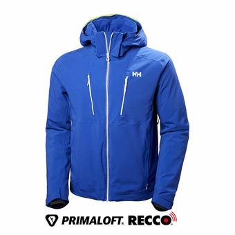 Helly Hansen ALPHA 3.0 - Veste ski Homme olympian blue