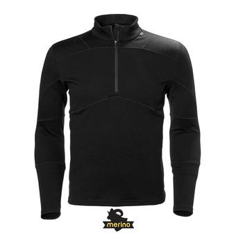 Camiseta térmica hombre LIFA MERINO black