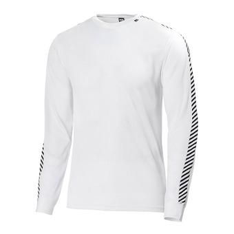 Helly Hansen HH LIFA STRIPE CREW - Base Layer - Men's - white
