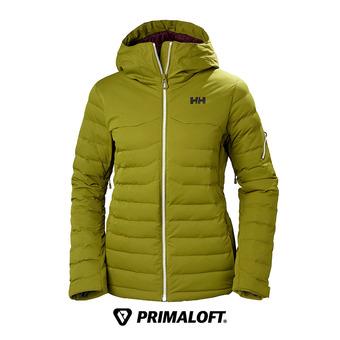 Anorak de esquí mujer LIMELIGHT fir green