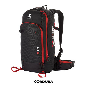 Arva REACTOR V2 18L - Mochila black/red