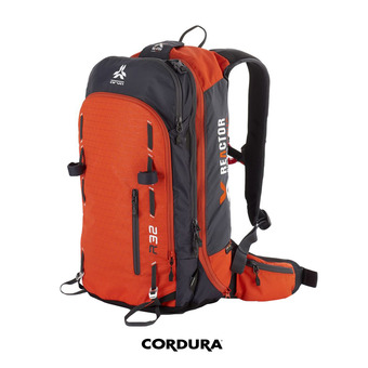 Sac à dos airbag 32L REACTOR V2 orange