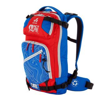 Arva CALGARY V2 22L - Sac à dos bleu/rouge