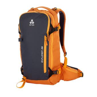 Mochila 26L EXPLORER V3 naranja/gris