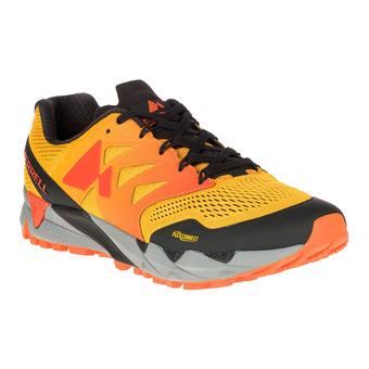 Zapatillas de trail hombre AGILITY PEAK FLEX 2 E-MESH spicy gold