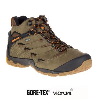 Zapatillas de senderismo hombre CHAM 7 MID GTX dusty olive