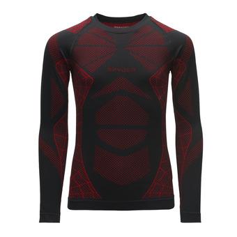 Camiseta térmica niño CADEN black/red