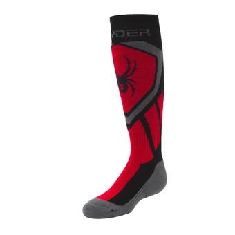 Calcetines junior DARE black/red/pol