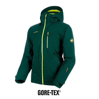 Chaqueta de esquí hombre STONEY GTX® THERMO dark teal/canary