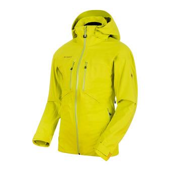 Chaqueta de esquí hombre STONEY HS canary