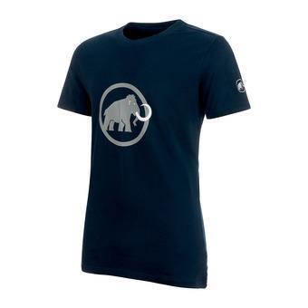 Tee-shirt MC homme MAMMUT LOGO marine/granit