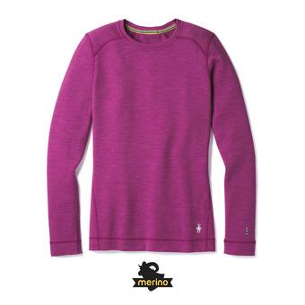 Camiseta térmica mujer MERINO 250 CREW meadow mauve heather