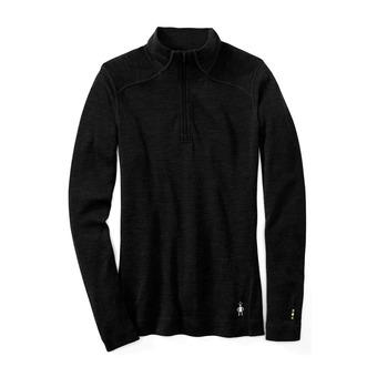 Smartwool MERINO 250 ZIP - Camiseta térmica mujer black