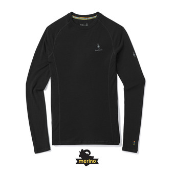 Men's Merino 200 Baselayer LS Homme Black